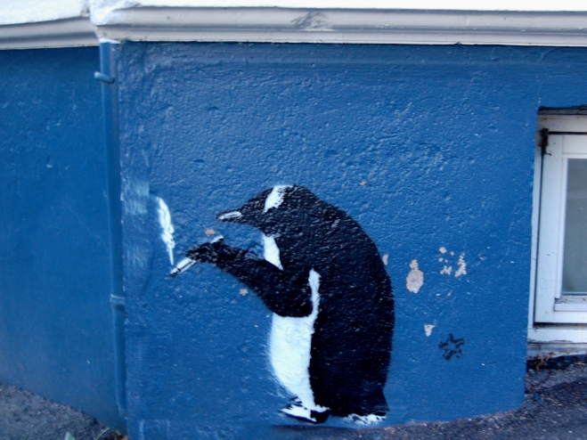 Pingu shirking