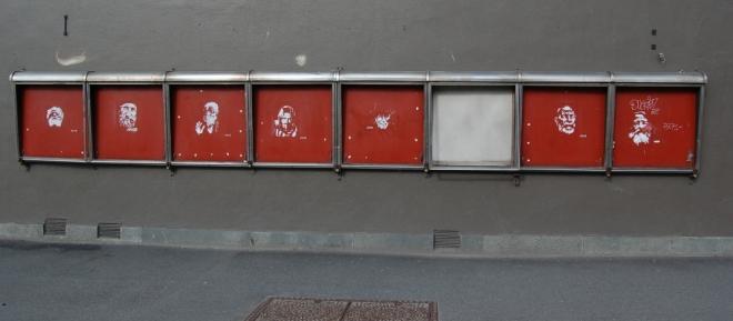 Street gallery minus one